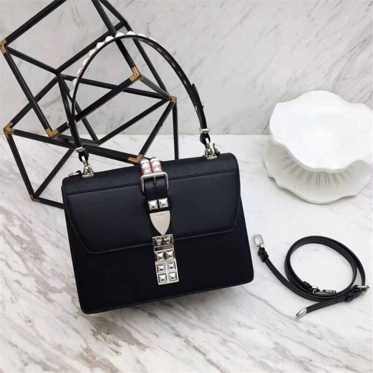 4b5a80009406 Prada Elektra Leather shoulder bag 1BA179-Black | Luxury Handbags in ...