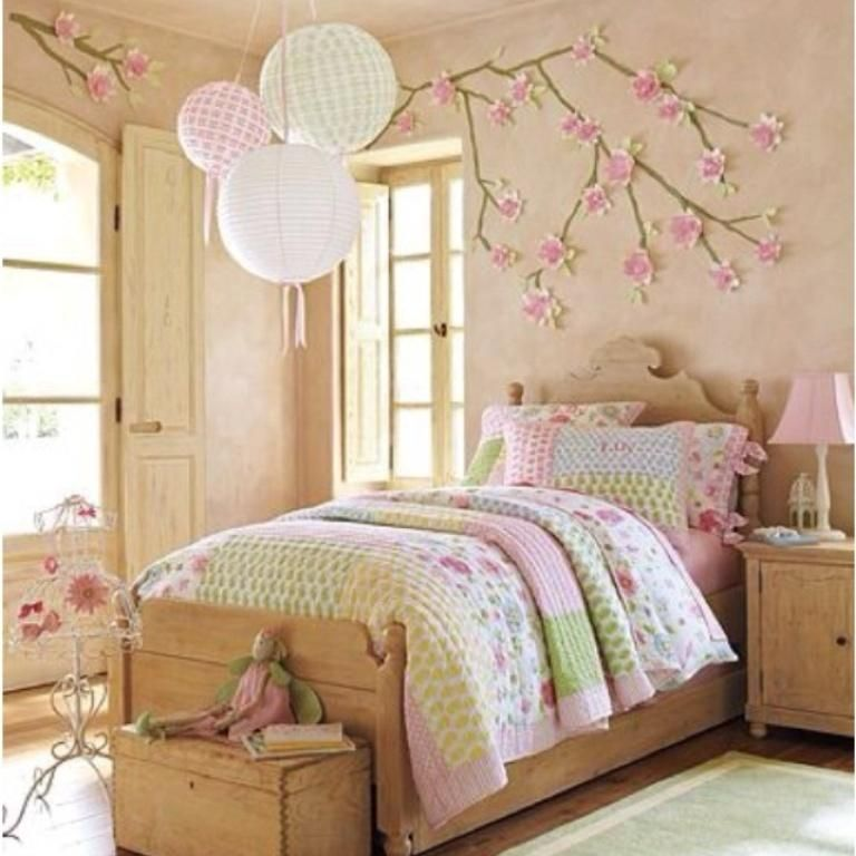 Princess Kids Bedroom Sets Interior Of Master Bedroom Newborn Boy Bedroom Ideas Bedroom For Kids: 20 Adorable Country Bedroom Ideas For Girls