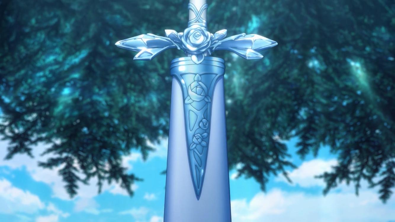 Sword Art Online Alicization Blue Rose Sword Art Online Kirito Sword Art Sword Art Online