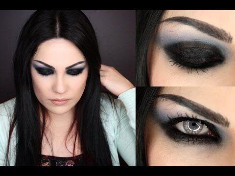 Amy Lee Concert Grunge Makeup Tutorial Amyleemakeup Amylee - Grunge-makeup-ideas