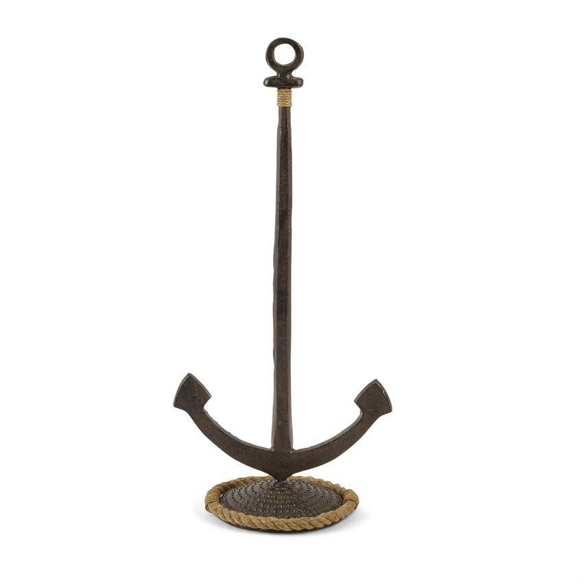 Coastal Paper Towel Holder Adorable Paper Towel Holder Anchor  Paper Towel Holders Towel Holders And Decorating Design