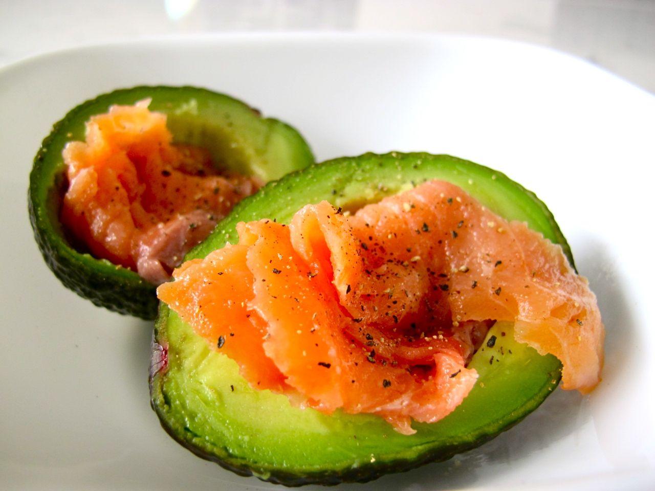 Avocado and Smoked Salmon | Eat Clean Recipes | Pinterest