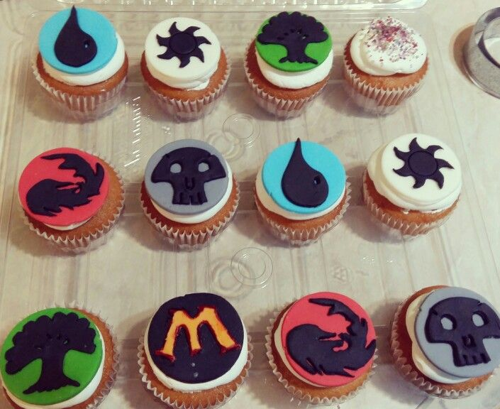 Magic The Gathering Cupcakes Made Specially For My Love Magic