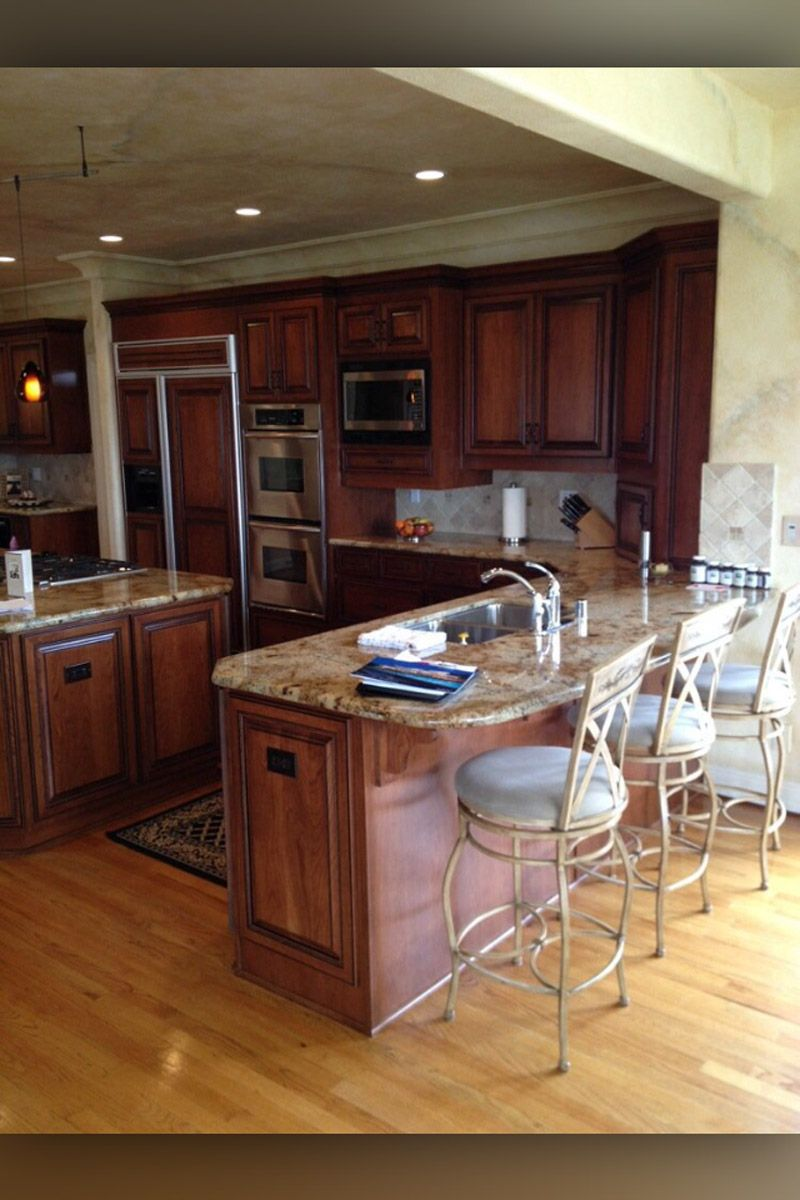 Custom Cabinets Gallery | Cabinet refacing, Cabinet makers ...