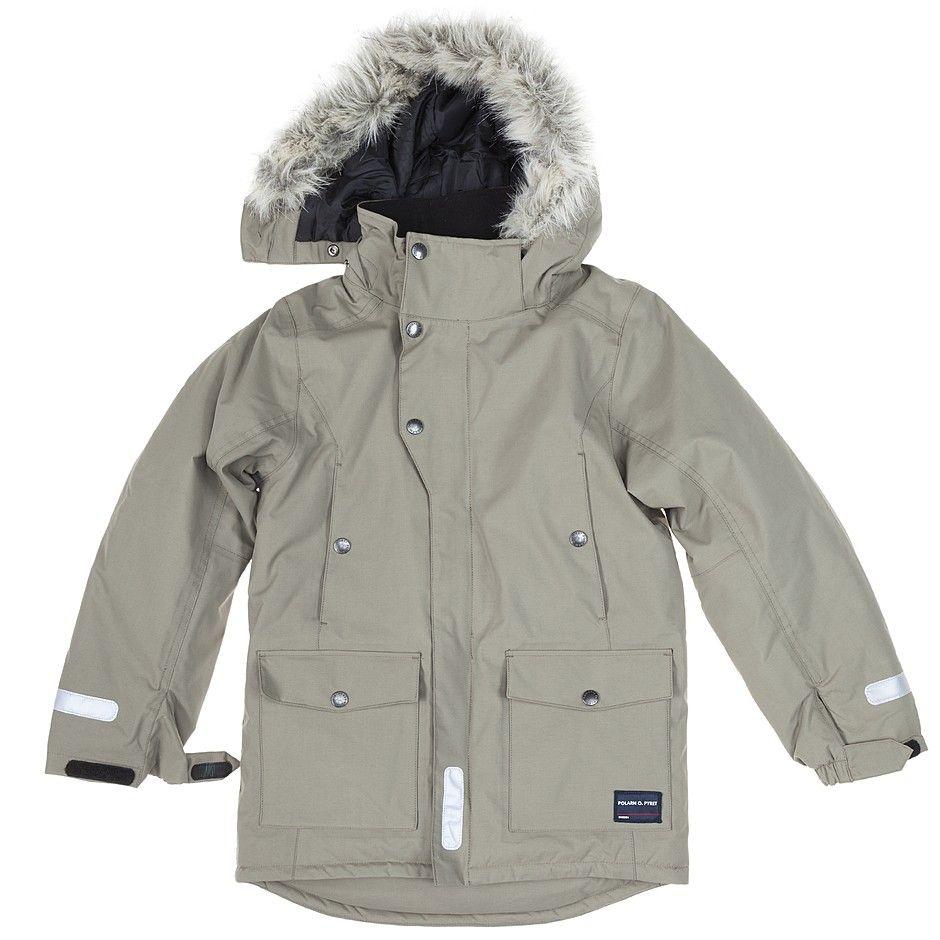 Polarn O. Pyret Kids Fur Hood Parka Jacket. Winter warmer, back to ...