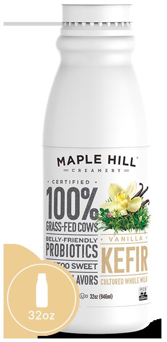 Maple Hill Creamery Yogurt Packaging Kefir Juice Packaging