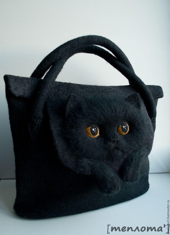 Женские сумки ручной работы. Заказать Валяная сумка