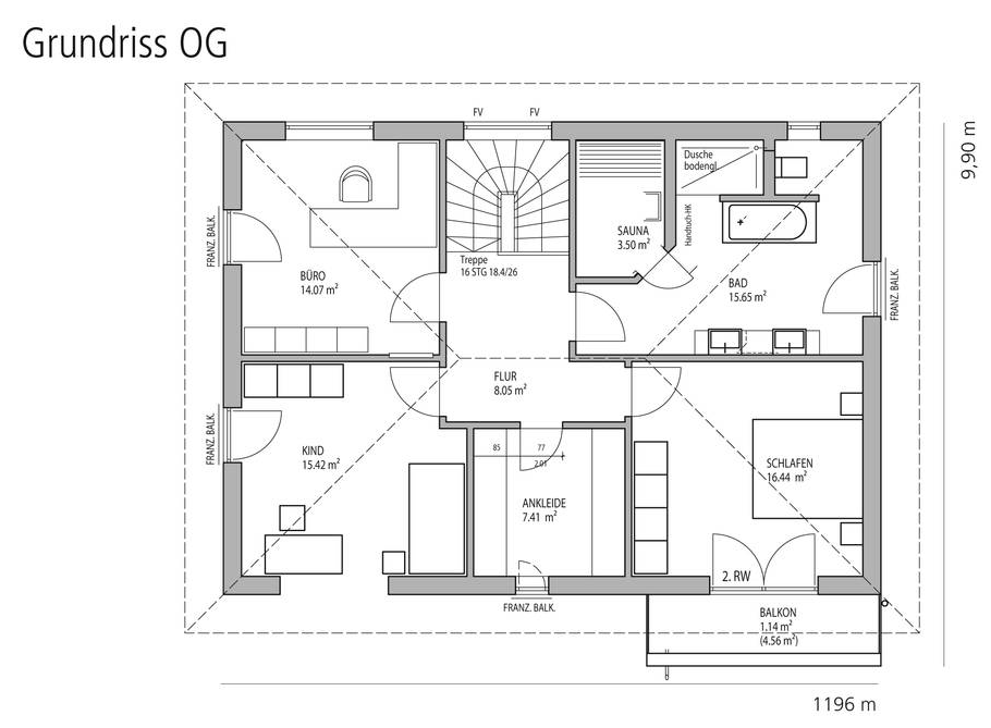 Stadtvilla Grundriss 200 Qm Floor plans, World