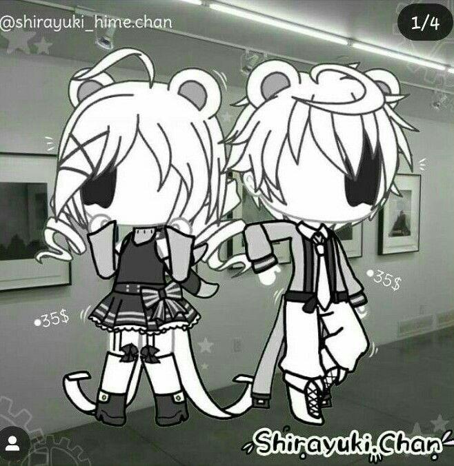 小薇的世界光 插画 壁纸 Cute couple wallpaper