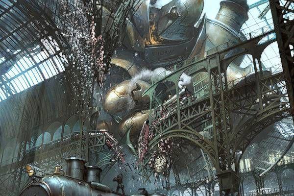 Titanomachy - fall of the Hyperion, Marcin Jakubowski