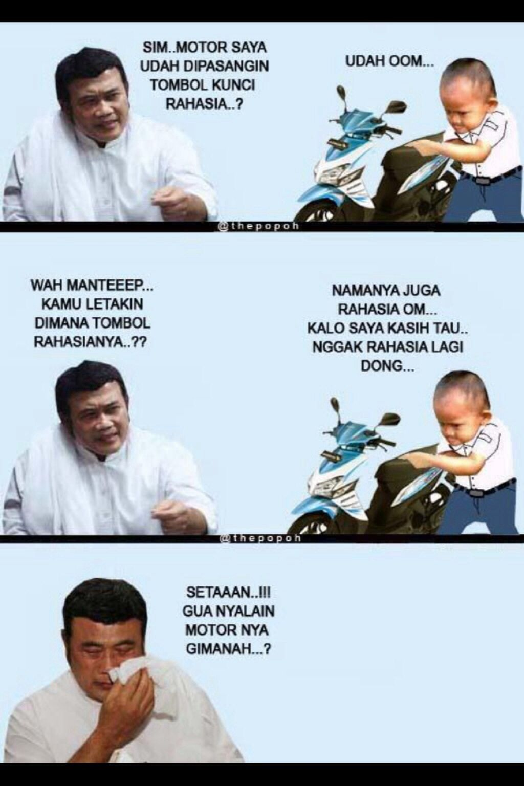Mat Kosim Kunci Rahasia Funny Jokes Lucu Pinterest