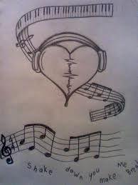 Es Un Dibujo Que Hace Referencia A La Musica Tatuaje Musica Dibujos Geniales De Arte Dibujos De Arte Simples