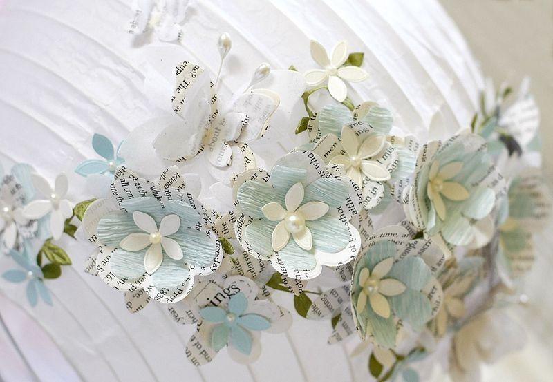 lamp met vlinders en bloemen doe het zelf pinterest paris