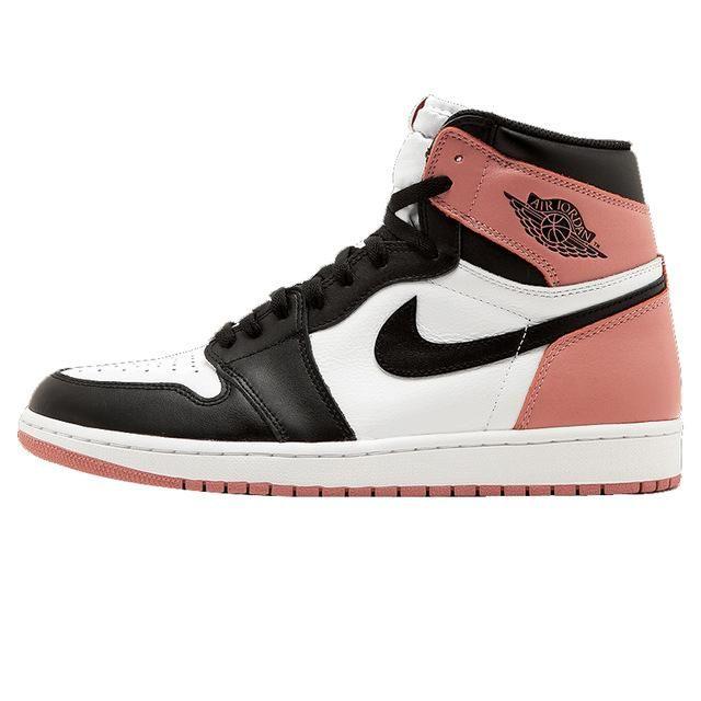 buy popular 8d877 9f01e Nike Air Jordan 1 Retro High OG NRG AJ1 Wemen s Basketball Shoes, Original  Outdoor Shock