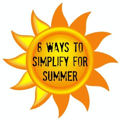 Love these ideas about slowing down this summer ...