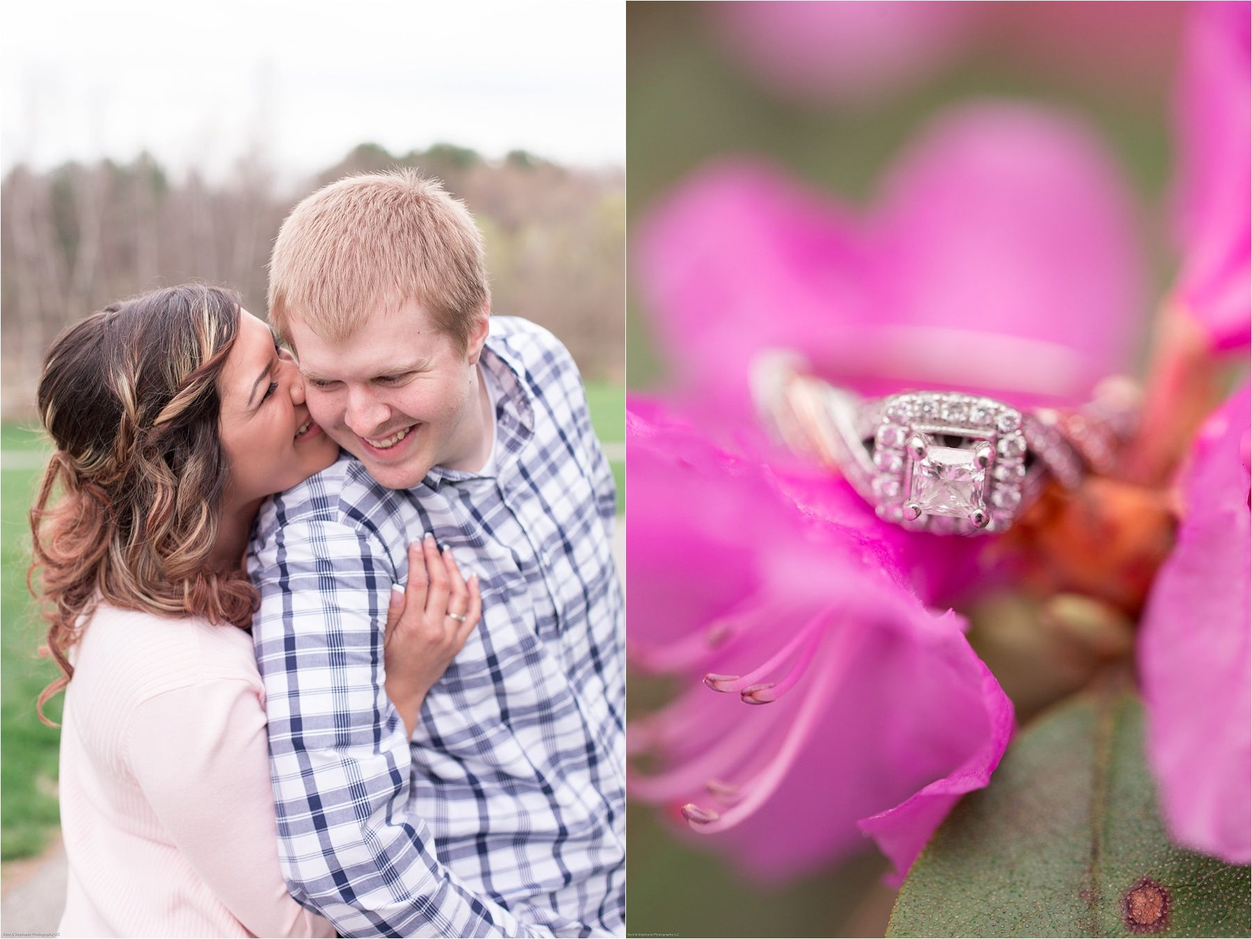 Spring Engagement Session at the Botanical Gardens by Toledo and ...