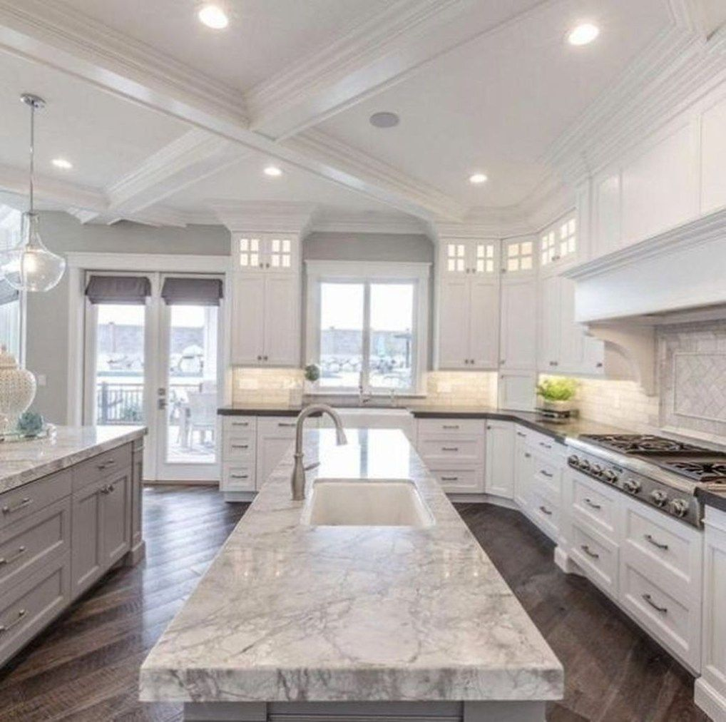 34 Admirable Luxury Kitchen Design Ideas You Will Love Homepiez Kitchen Design Decor Dream Kitchens Design Luxury Kitchen Design