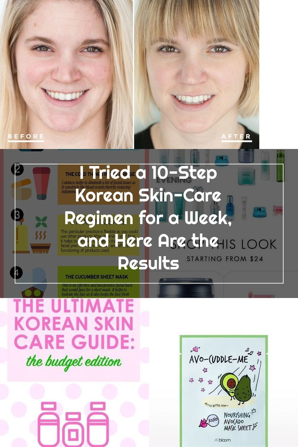 I Tried A 10 Step Korean Skincare Regimen For A Week And Here Are The Results Self In 2020 Korean 10 Step Skin Care Korean Skincare Skin Care Regimen