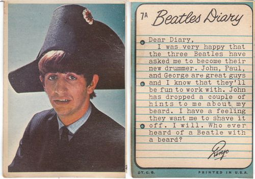 RINGO! Haha i don't know if this is real but it would be really cool....