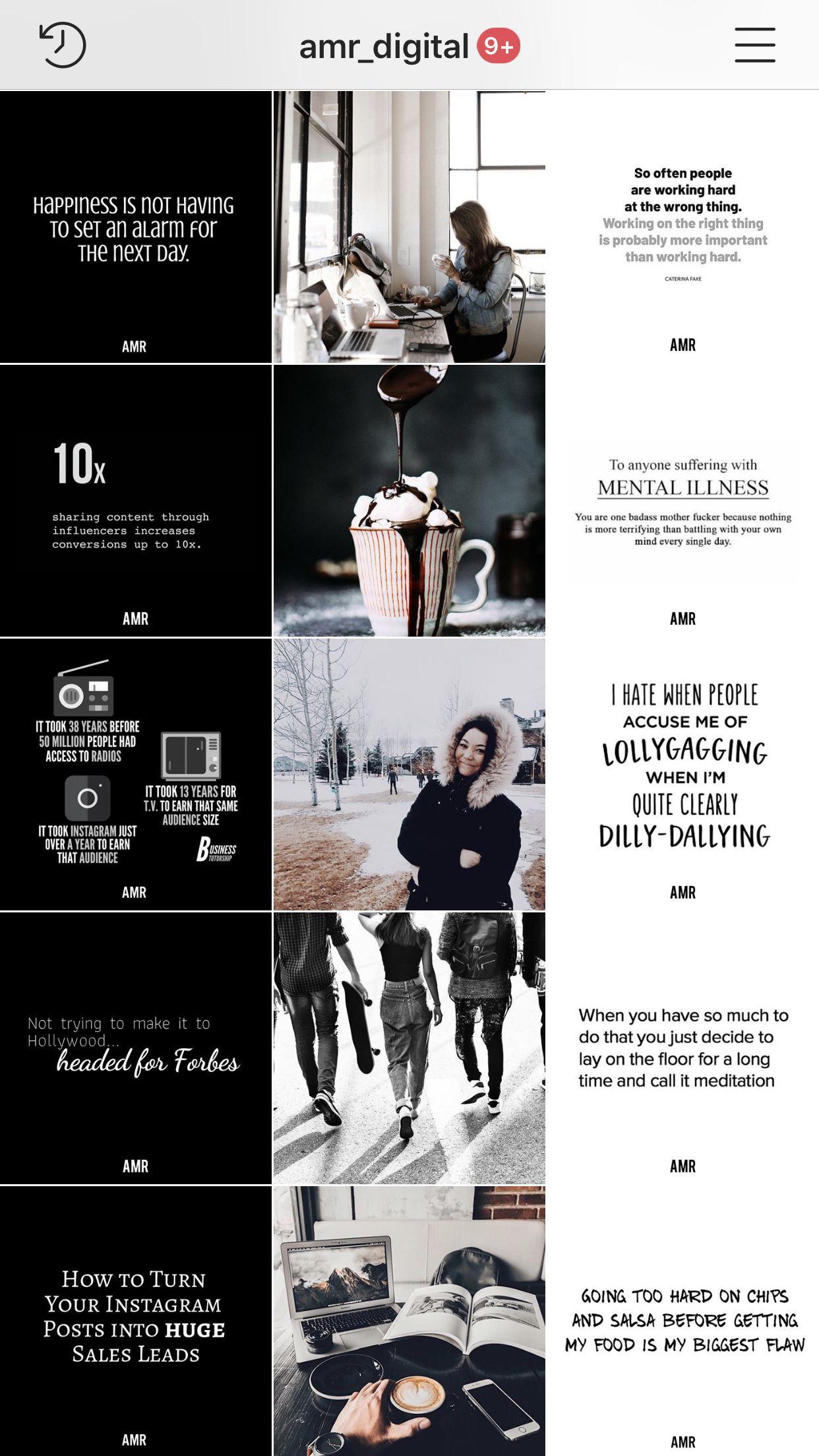 Home Amr Digital Marketing Instagram Design Instagram Feed Ideas Posts Instagram Theme Feed