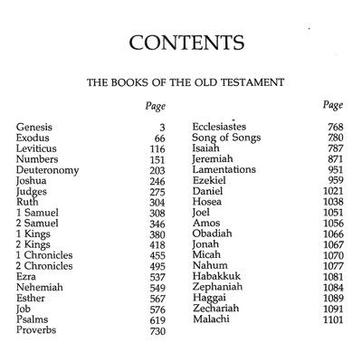 books of the bible in order   Old Testament Books Of The Bible In ...