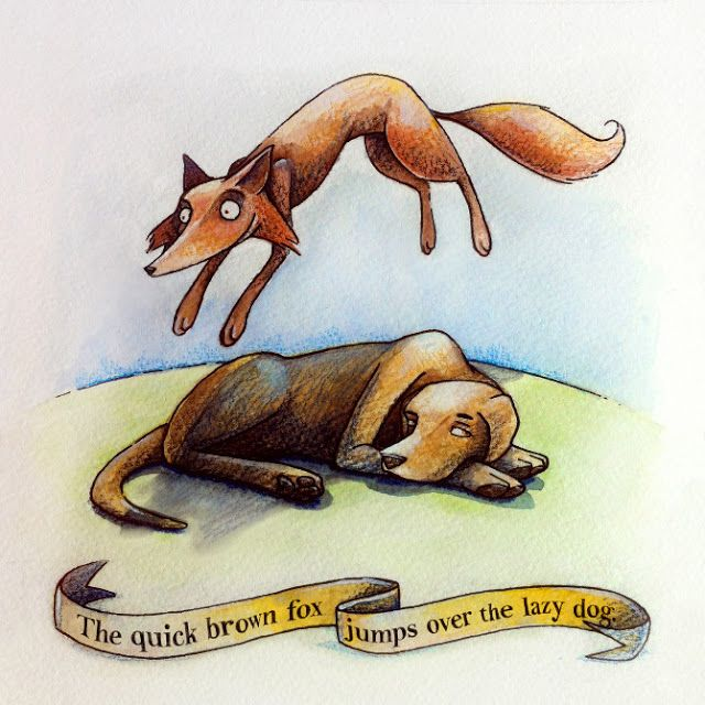 Seeds of Love: The quick brown fox jumps over the lazy dog