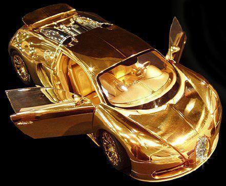 Bugatti Veyron  Diamond Limited Edition (Three million dollars)