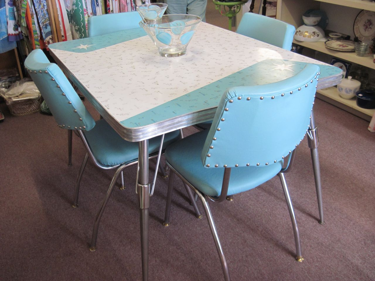 Delicate kitchen on interior home inspiration with vintage kitchen table
