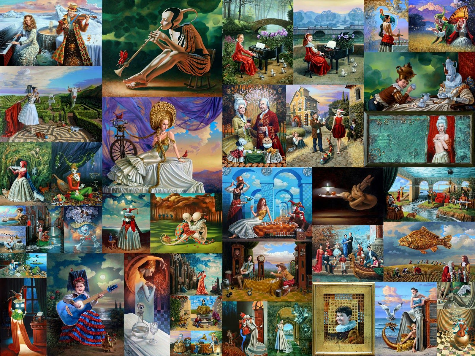 Artists in the World: Michael Cheval