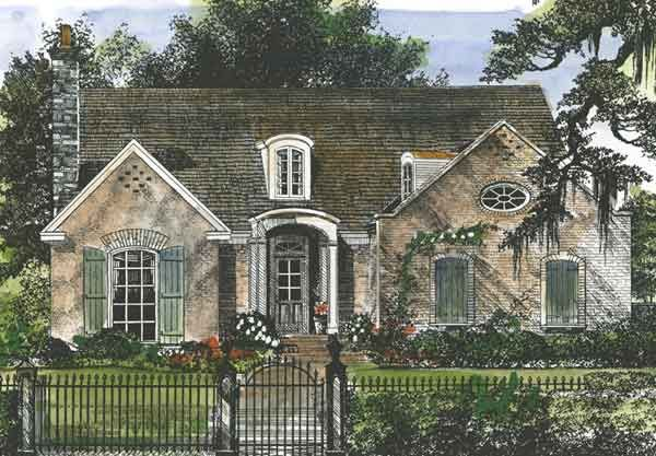 Allendale Southern Living House Plans Cottage Style House Plans French House Plans