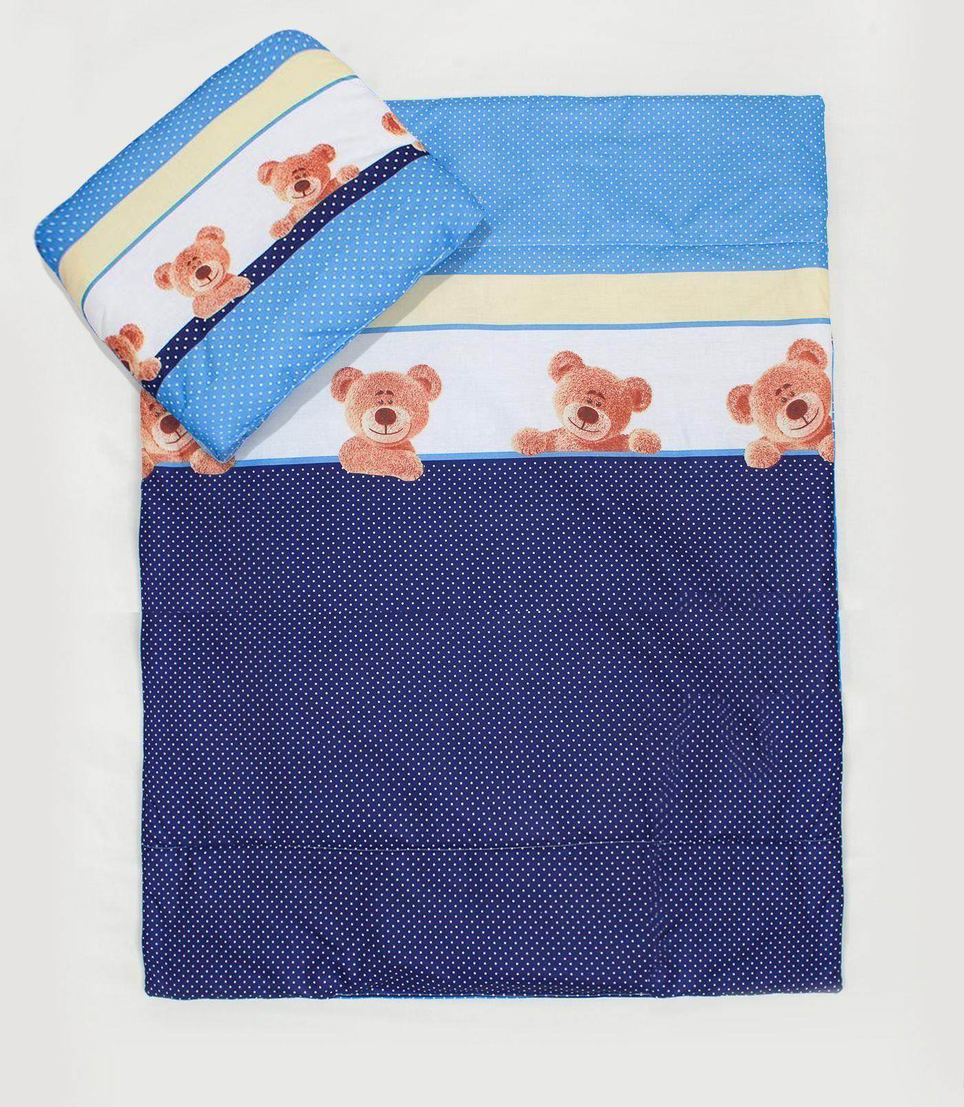 Crib pillows babies - Details About 2 Piece Quilt Duvet Pillow Set Baby Crib Cradle Pram Cot Bedding Filling Set