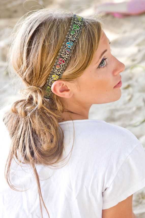 HEADBAND - Bohemian Women Hair Accessories via Etsy