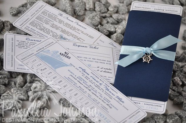 cruise ticket invite cards and more Pinterest Cruise tickets