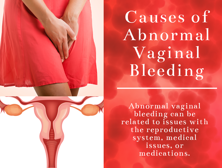 Causes of vaginal bleeding and pain