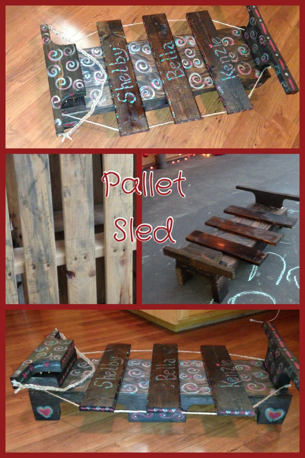 Pallet Sled | DIY Crafts | Pinterest