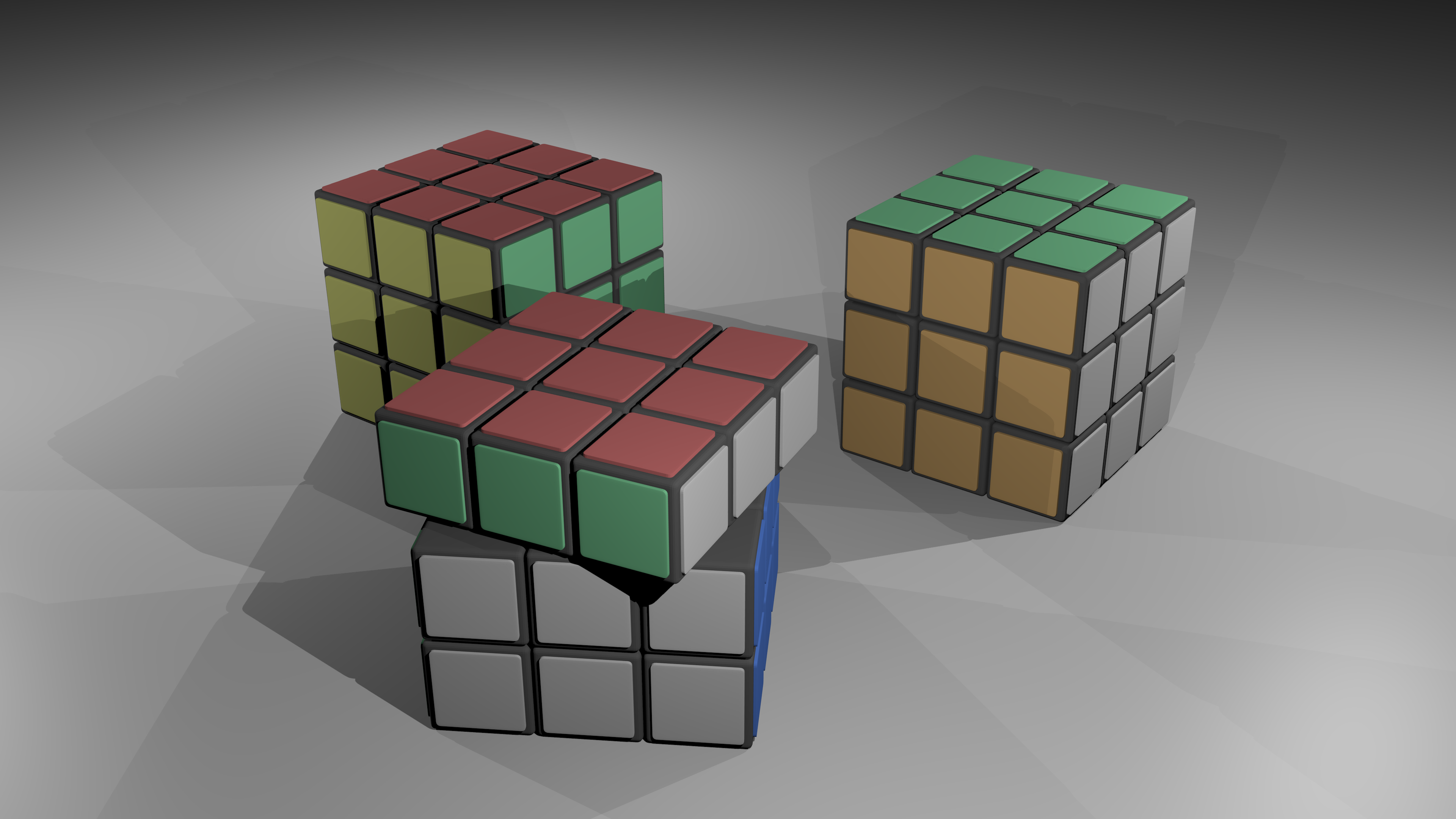 Rubik Cube 3d Model 3d Model Rubiks Cube Cube