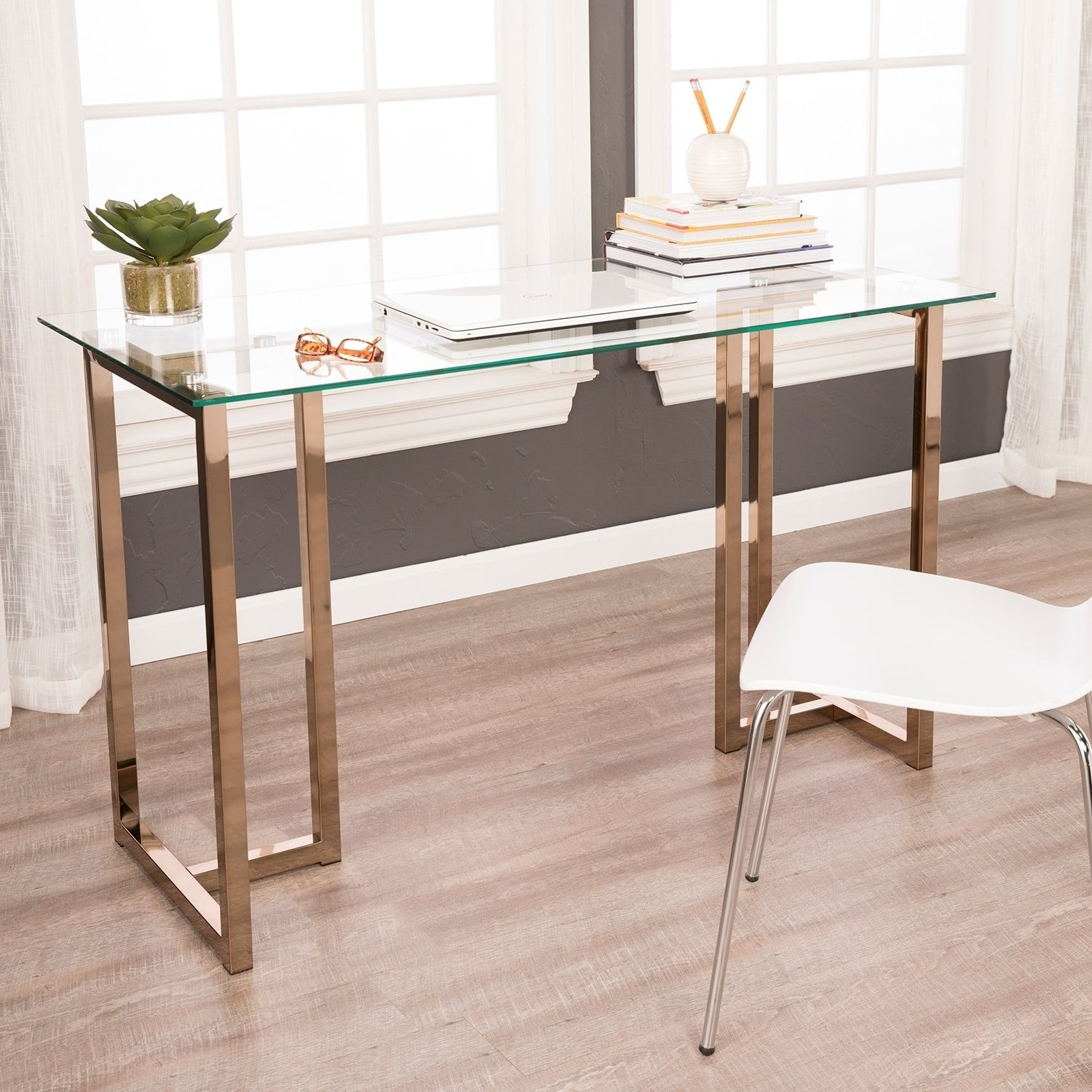 Our Best Home Office Furniture Deals Deals Furniture Glassofficedeskmodern Home Office In 2020 Home Office Furniture Glass Desk Furniture