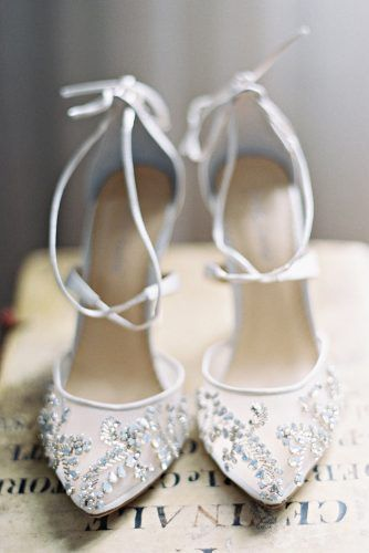 shoe trend 2018 strappy crystal high heels embroidery wedding shoes trends bella belle florence