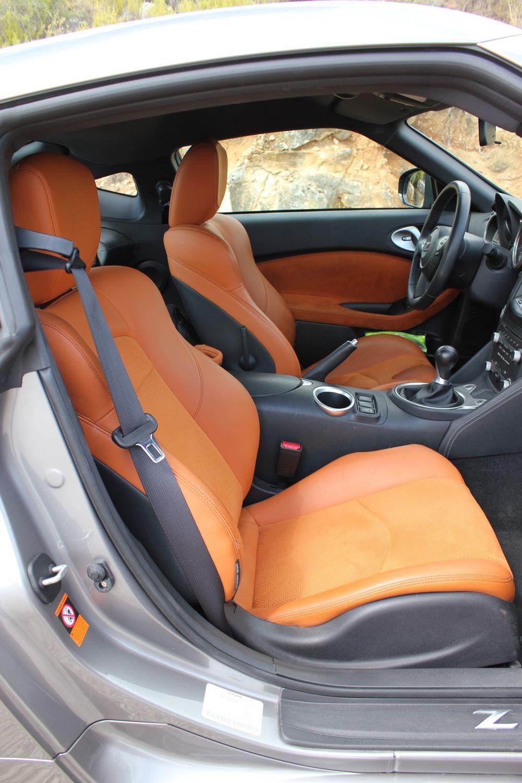 Nissan 370z grey and orange and black interior 350 z brown auto nissan 370z grey and orange and black interior 350 z brown vanachro Images