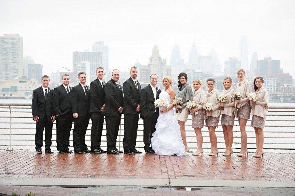 Philadelphia Wedding Florist - A Garden Party #adventureaquariumwedding #tinajayphotography