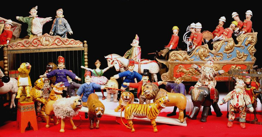 Yaffee S Circus Circus Toy Safari Toys Retro Toys