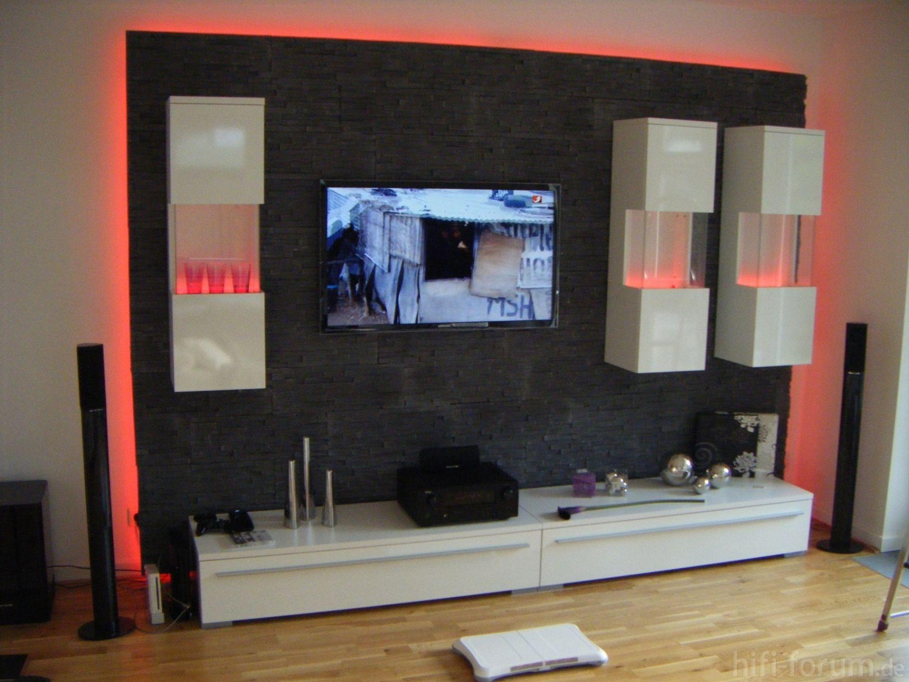 Neu Wohnzimmer Ideen Tv Wand | Wohnwand | Pinterest | TV Wände ...