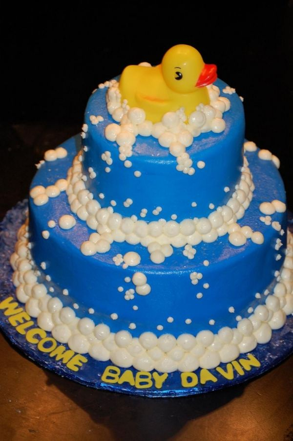 Rubber Duck Baby Shower Weddings And Babies Pinterest Pasteles - Pasteles-nios
