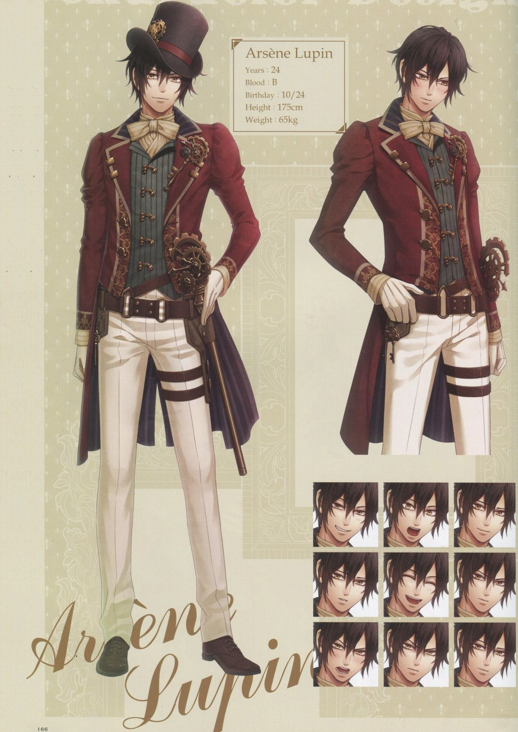 Dolce Code Realize Character Design Taken From Code