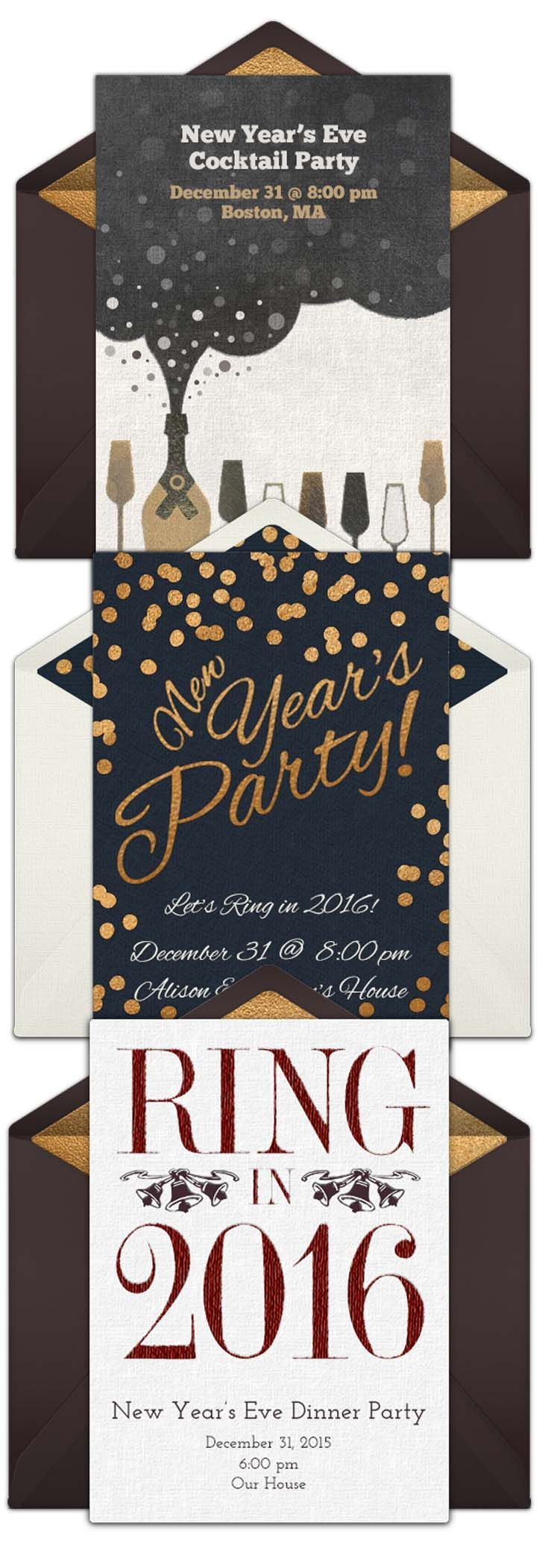 A collection of FREE New Years Eve party invitations We love – Free New Years Eve Party Invitations