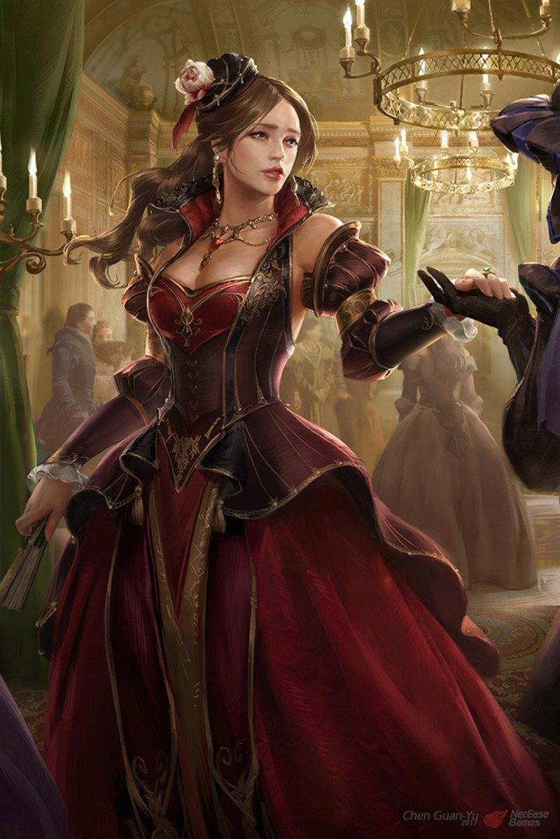 Artstation Piri Reis Lucrezia Borgia Guan Yu Chen Lucrezia Borgia Fantasy Girl Guan Yu