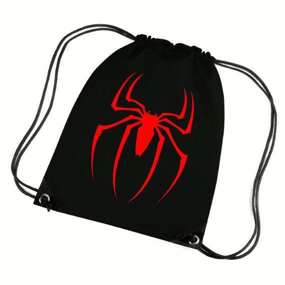 Backpack//Gym Bag Spiderman Drawstring Bag