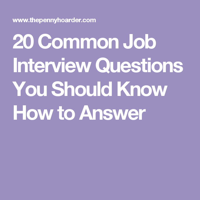 Ace Your Next Job Interview How To Answer 20 Common Questions Nursing Interview Nursing Interview Questions Interview Questions