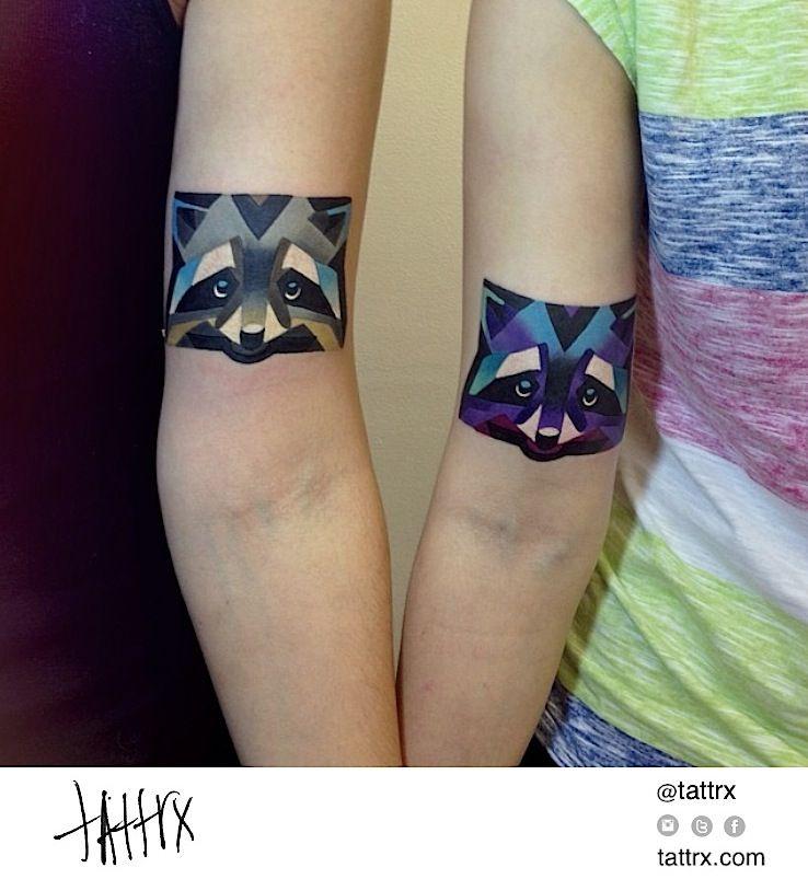 Sasha Unisex - Fox Friends Tattoos #tattoo #ink