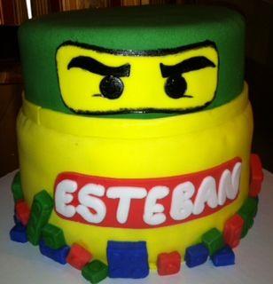 Ninjago/Lego cake